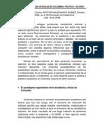 Las Estadisticas Oficiales de Colombia