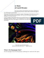 Hypnagogia and Lucid Dreams