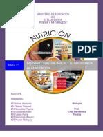 LAS MOLÉCULAS  ORGÁNICAS Y SU IMPORTANCIA EN LA NUTRICIÓN