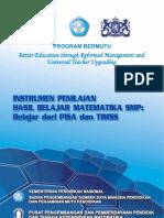 4.Instrumen Penilaian Hasil Belajar Matematika ....