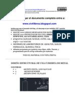 diseoestructuraldeunacubiertametalica