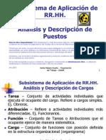 D1 - Análisis y Descripción de Puestos