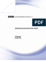 WebSphere Lombardi Edition-7.1.0-Authoring Environment User Guide