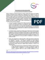 Pronunciamiento de la MD FEPUC sobre la eventual eliminación del bachillerato automático