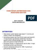 Kemoterapi Antimikroba Dan Resistensi Bakteri