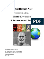 Traditionalism, Islamic Esotericism& Environmental Ethics