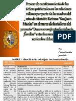 Matriz 1 Javier Vela y Cristina Gonzales