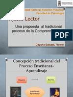 Ajuste Lector-Una propuesta  al tradicional proceso de la Comprensión de Textos