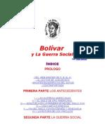 01 Bolivar y La Guerra Social