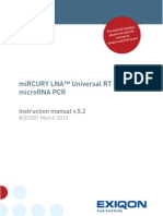 MiRCURY LNA PCR System Manual