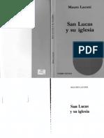 Laconi, Mauro - San Lucas y Su Iglesia