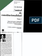 Control de Constitucionalidad - Tomo i - Alberto Bianchi