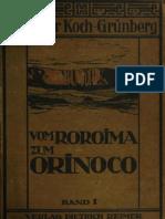 VOM ROROIMA ZUM ORINOCO BAND I