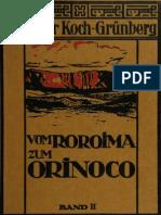 VOM ROROIMA ZUM ORINOCO BAND II