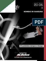 Acdelco Catalogo Bombas Gasolina