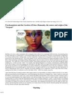 Psychoanalysis and the Garden of Eden