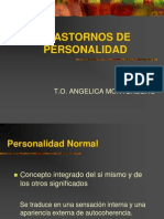 Tr. Personalidad y Tto. Farmacologico
