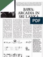 Bawa- Arcadia in Sri Lanka_RIBAJ Feb 1986