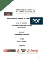 Programa de Formacion de Emprendedores_PLAN de NEGOCIO