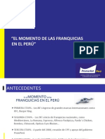 El Momento de Las Franquicias en El Peru