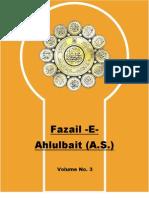 Fazail e Ahlulbait (A.s.) Vol 3