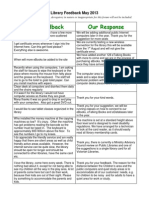 Frankston Library customer feedback May 2013.pdf