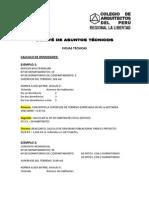 Fichas Tecnicas Expuestas Sobre Calculo de Densidad y de Dimension de Pozos de Luz