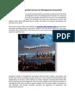 Australia Immigration Services for Management Accountant