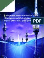 Eduque Ton Ame o Serviteur d Allah