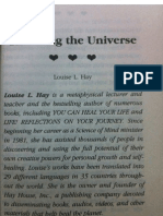 Thanking the universe By Louise hay