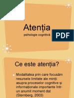 atentia cognitiva