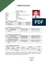 Format Cv Pelaut Bahasa Inggris Rapih