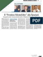 """Il """"Frontino-Montefeltro"""" alla Spaziani - Il Resto del Carlino del 20 giugno 2013"""