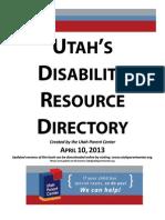 disabilty resource book