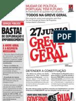 Manifesto Greve Geral