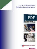 Birmingham Sector Profile - Digital and Creative