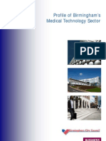 Birmingham Sector Profile - Medical Technologies