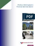 Birmingham Sector Profile - Financial Services