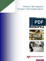 Birmingham Sector Profile - Transport Technologies