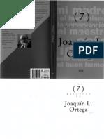 Palabras de - Joaquin l Ortega