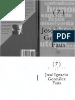 Palabras de - Jose Ignacio Gonzalez Faus