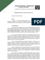 Acuerdo Regional Lambayeque