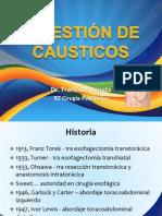 Ingestión de Caústicos (Junio 2013)