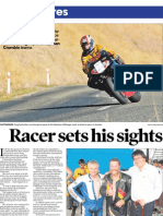Racer sets his sights on top place finish