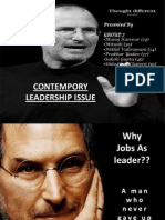 Contempory Leadership Issue1