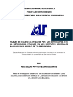 Tesis Universidad Rural de Guatemala Investigacion II Falta Indice... Para Imprimir