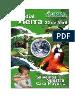 Dia Mundial de La Tierra 22 de Abril