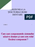 2.Partea II ADEZIUNE La Tesuturile Dentare 2012