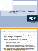 Site Recovery Manager