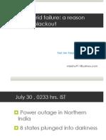 july 2012 indian blackout